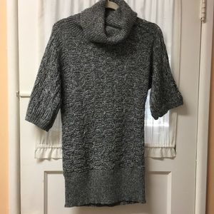 Old Navy chunky knit cowl neck tunic sweater